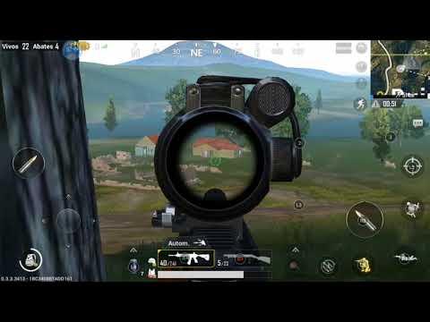 PUBG mobile - com o gamesir G5 pt-br