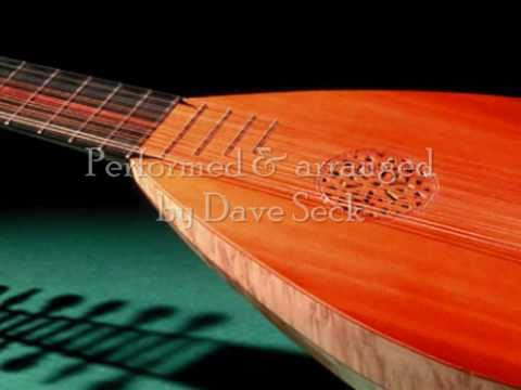Vivaldi Lute Concerto in D (2nd Mvt) performed by Dave Seck