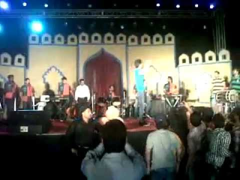 group k media organised Amrinder Gill Nite at Satluj Club Ludhiana...