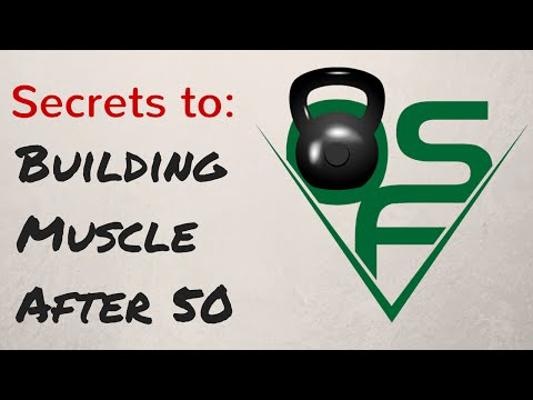 Secrets to Building Muscle After 50