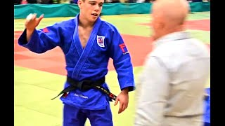 JUDO - Scott Thomson - British Cadet Champion -60 Kg