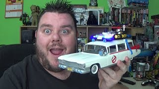 Ghostbusters Ecto 1 Playmobil Vehicle Set 9220 Lights & Sirens Unboxing Toy Review