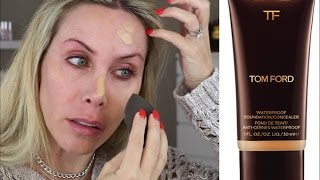 Tom Ford Waterproof Foundation/Concealer Review + GRWM All New Products!