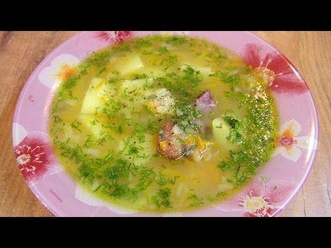 Гороховый суп - видео рецепт