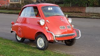 Let's go chase a Squirrel in a BMW Isetta !