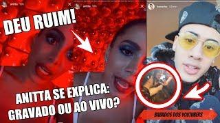 download musica NINGUÉM está FINGINDO diz ANITTA e EXPLICA POLÊMICA e suposto ERRO no AO VIVO de INDECENTE live