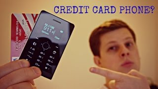 Mini Card Phones - What Are They? SOYES H2 Review