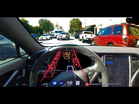 FSD Beta 8.2 in busy San Francisco (Raw)