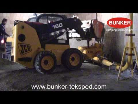 Mixing bucket JCB and B100 concrete pump