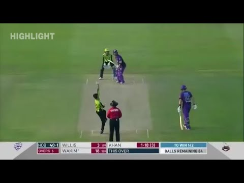 PSL vs BBL | Lahore Qalandars vs Hobart Hurricanes full match Highlights HD |Abu dahbi t20 league