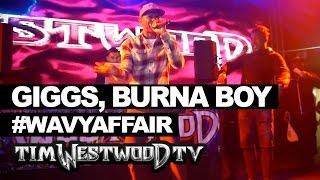 Giggs & Burna Boy shut down #WavyAffair at UH - Westwood