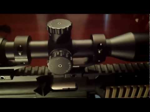 Nikon P-22 Scope Mounted on M&P 15-22