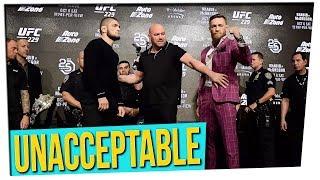 Feud Between Conor McGregor & Khabib Nurmagomedov Escalates
