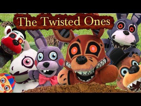FNaF6 Plush: The Twisted Ones Arrive
