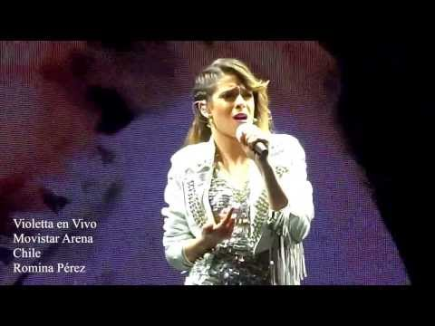 Como Quieres Violetta en Vivo Chile 2013