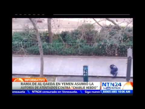 Rama De Al Qaeda En Yemen Asume La Autoría Del Ataque Terrorista Contra Charlie Hebdo video