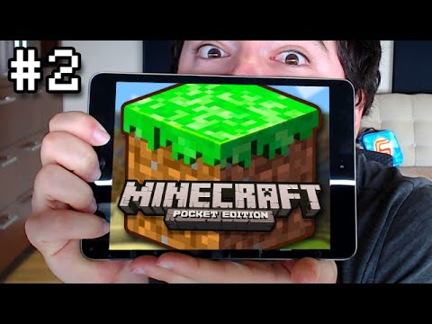 Minecraft Pocket Edition: MOB FIGHTER Mini Survival Lets Play Ep. 2
