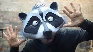 Как сделать маску енота GTA 5 Online DIY Raccoon mask