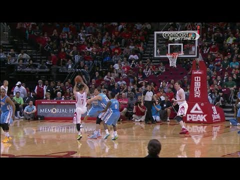 Jeremy Lin (19 pts 5 ast) vs Denver Nuggets 2014-04-06
