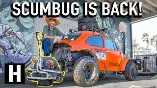 SCUMBUG is Back! We Start Prepping our Craigslist Beetle for Baja!
