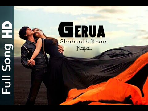 Gerua Official Video Song | Dilwale | Shahrukh khan | Kajol | HD