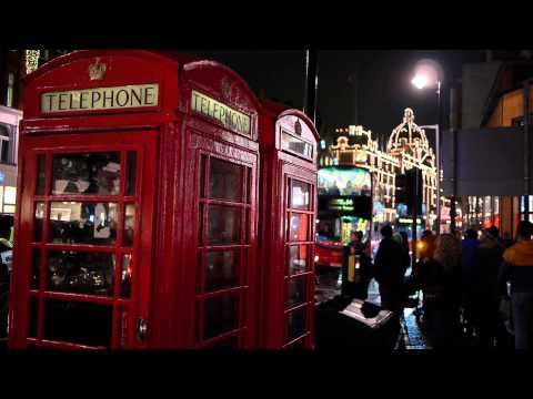 City of London at Night 01 - 2013 filmed with Panasonic Lumix GH2 in full HD
