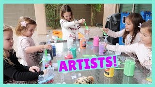 Let's Create Sand Art with Friends