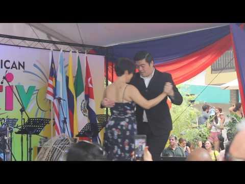 Tango Dancing at the 8th Latin American Festival in Malaysia (Video 8 of 12)