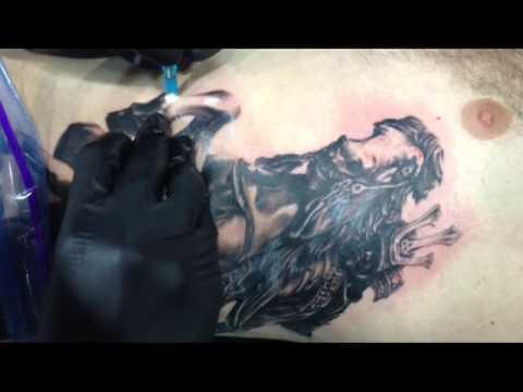 Mimptattoo shop (Realistic tattoo part3) Tattoo Bangkok Thailand