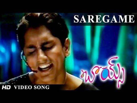 Boys Movie | Saregame Video Song | Siddarth, Bharath, Genelia