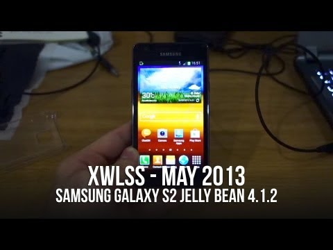 Samsung Galaxy S2 GT i9100 Android Jelly Bean XWLSS Firmware