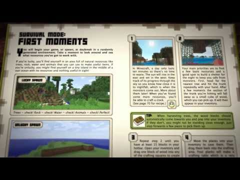 Minecraft:Official Beginners Handbook