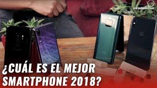 ¿iPhone, Galaxy, Huawei o LG? ¿Cuál es el mejor smartphone de 2018?