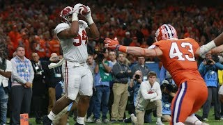 Alabama vs. Clemson Sugar Bowl Highlights 2018 (HD)