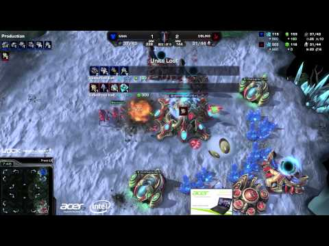MMA vs. Bling (ATC) - Acer vs. coLDignitas - Game 4 - StarCraft 2