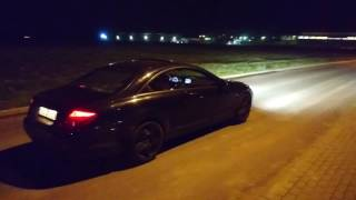 Mercedes Benz W216 CL 500 sound on  straight pipes !