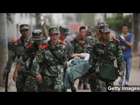 Death Toll From Southwestern China Earthquake Rises Sharply