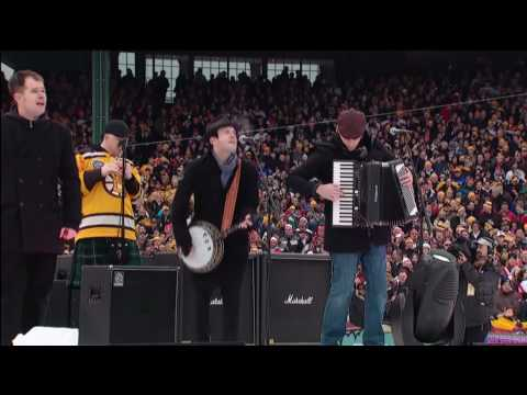 Dropkick Murphys Perform at Fenway Park - 2010 NHL Winter Classic (HD) Video