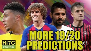 MORE 2019/20 Predictions Including The Championship, La Liga & The Champions League