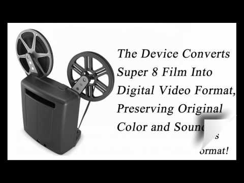 Convert 8mm Film to Digital