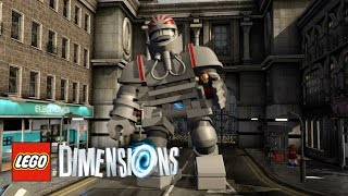LEGO Dimensions - How To Find Clara And Defeat K-1 In The Dalek Extermination of Earth