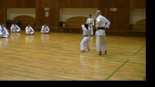 JKF 平安二段 Heian-nidan Seminar by Noboru Kato 2017-05-20@Nagaoka 全空連基本形三
