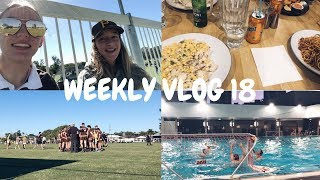 Water polo, rugby + assignments WEEKLY VLOG   Ellie Kate