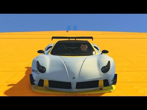 LA RAMPA INFINITA!! - CARRERA GTA V ONLINE - GTA 5 ONLINE