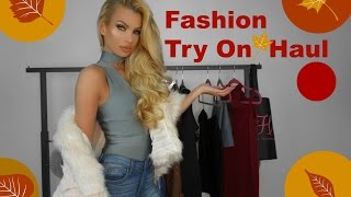 Try On - Hot Miami Styles Haul FALL Fashion