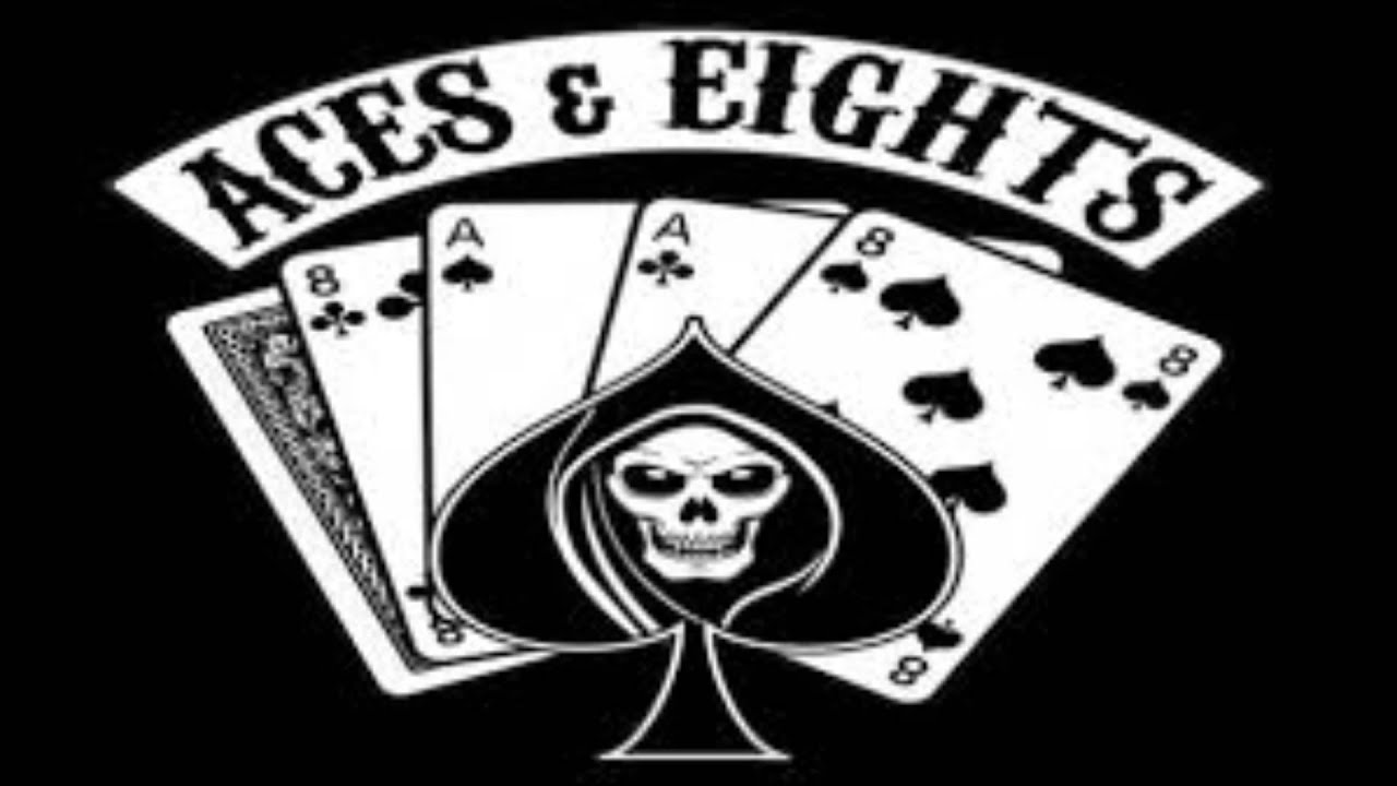 aces and eights tna logo lightning
