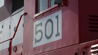 Cabriding the Western Maryland Scenic Railroad
