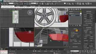 How to Model Audi R8 Modeling Tutorial in 3ds max Part 4 HD