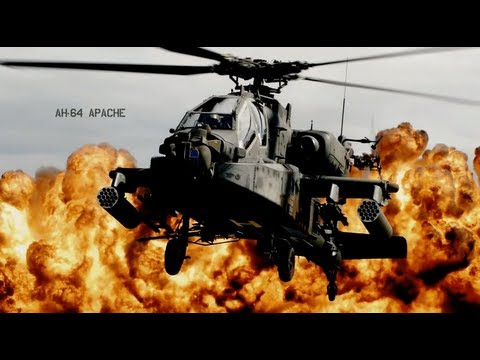 US ARMY HELICOPTER AC/DC [Big Gun HQ AUDIO]