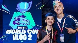 So I met Ninja at World Cup... (Vlog #2)